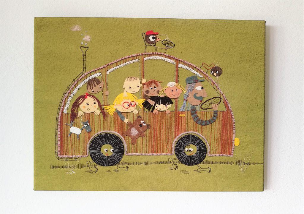 Platno - Na avtobusu